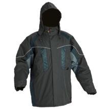 Cerva Nyala munkavédelmi kabát fekete színben