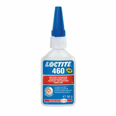 Loctite 460 50 gr-os nem kifehéredő,optikailag tiszta pillanatragasztó