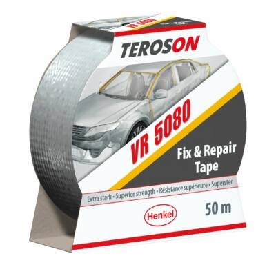 Teroson VR 5080 rögzítő, javító, csiszolásálló, 3 rétegű, szürke ragasztószalag 50M