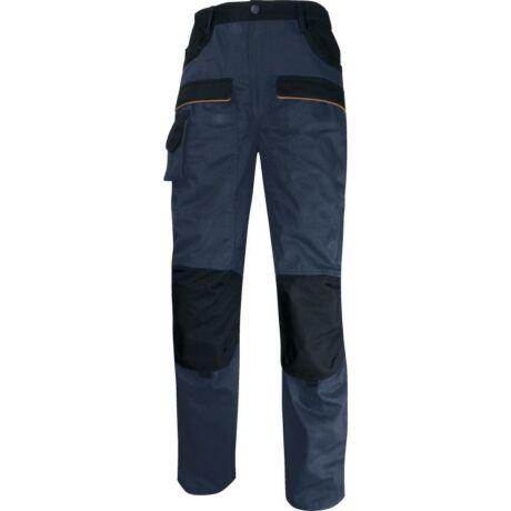 Deltaplus Mach2 Corporate munkavédelmi nadrág kék/fekete színben