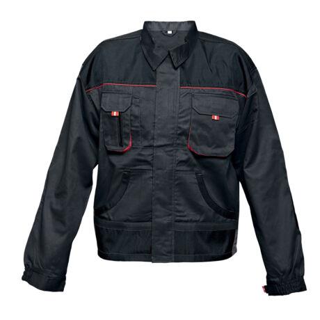 Cerva Fridrich & Fridrich BE-01-002 munkavédelmi dzseki fekete/piros színben