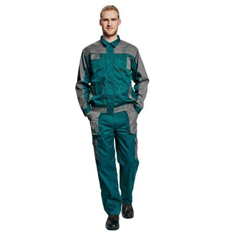 Cerva Max Evolution munkavédelmi dzseki zöld/szürke színben