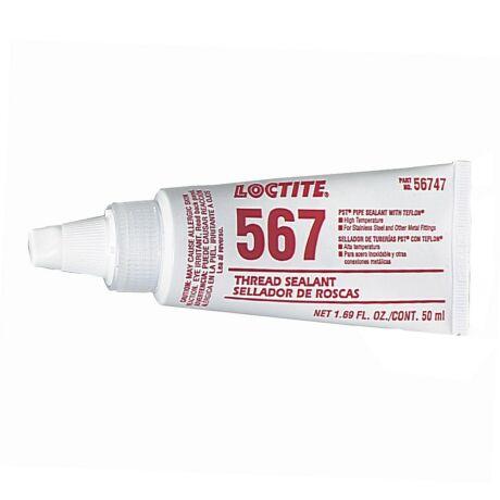 Loctite 567 50 ml-s teflon töltésű csőmenettömítő
