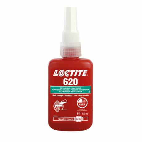 Loctite 620 nagy hőállóságú olajtűrő rögzítő 50 ml