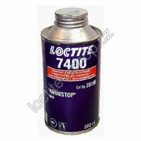 Loctite 7400 Oldószerbázisú vörös színű csavarjelölő-rögzítőlakk 500 gr