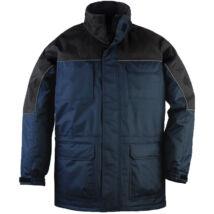 Coverguard Ripstop szakadásbiztos munkavédelmi kabát tengerkék/fekete színben