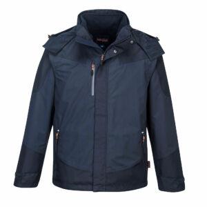 Portwest S553 Radial 3 az 1-ben kabát navy színben