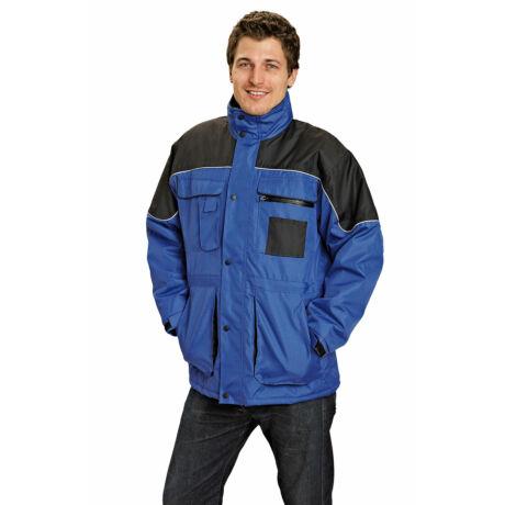 Cerva Ultimo vízhatlan munkavédelmi kabát kék/fekete színben