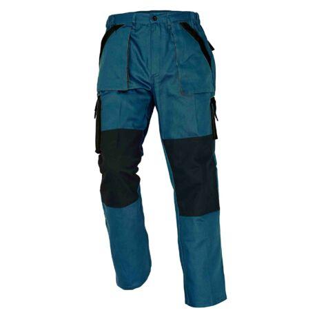 Cerva Max munkavédelmi nadrág zöld/fekete színben