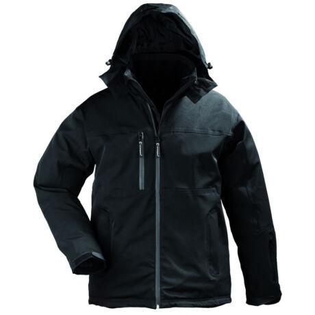 Coverguard Yang Winter munkavédelmi télikabát fekete színben