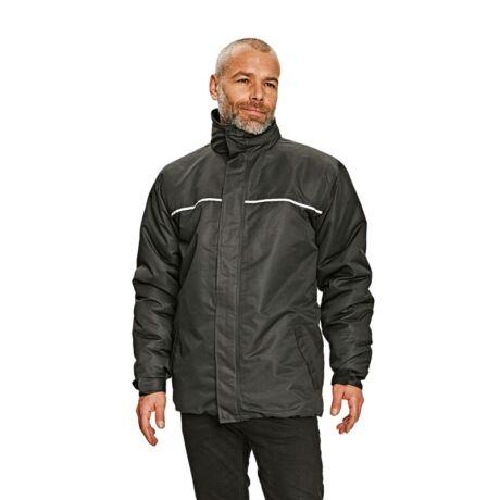 Cerva Drumone munkavédelmi kabát fekete színben