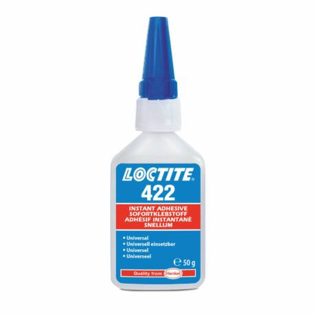 Loctite 422 pillanatragasztó általános felhasználásra 50 gr