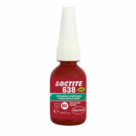 Loctite 638 Nagy szilárdságú és hőálló rögzítő 10 ml