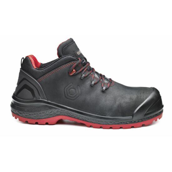 Base B0887 Be-Uniform Shoe S3 munkavédelmi félcipő fekete/piros színben