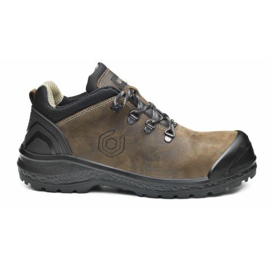 Base B0887 Be-Strong Shoe S3 munkavédelmi félcipő barna/fekete színben