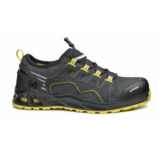 Base B1006 K-Balance Shoe S1P HRO SRC munkavédelmi félcipő fekete/sárga színben