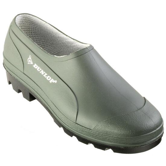 Dunlop Wellie zöld színű vízálló munkavédelmi PVC cipő
