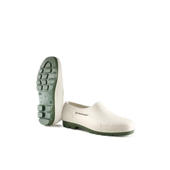 Dunlop Wellie fehér színű PVC papucs