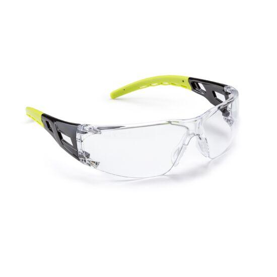 Coverguard Limelux védőszemüveg víztiszta átlátszó lencsével